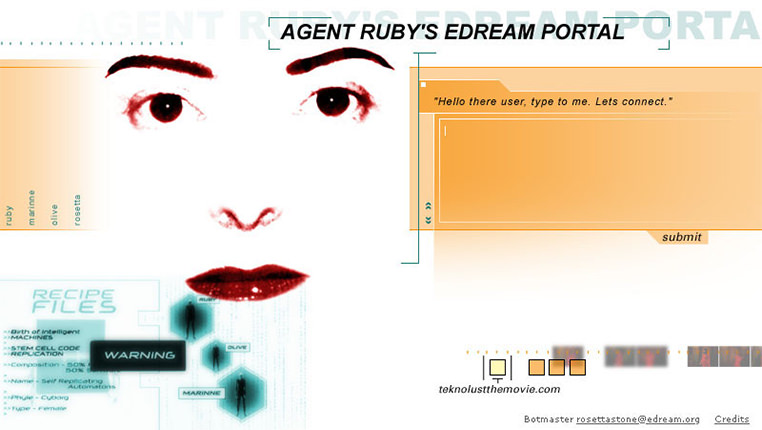 Agent Ruby installation, 1998–2002
